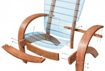 technical illustration, Fine Woodworking, woodworking projects