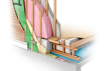 architectural rendering, passive house us, best home insulation