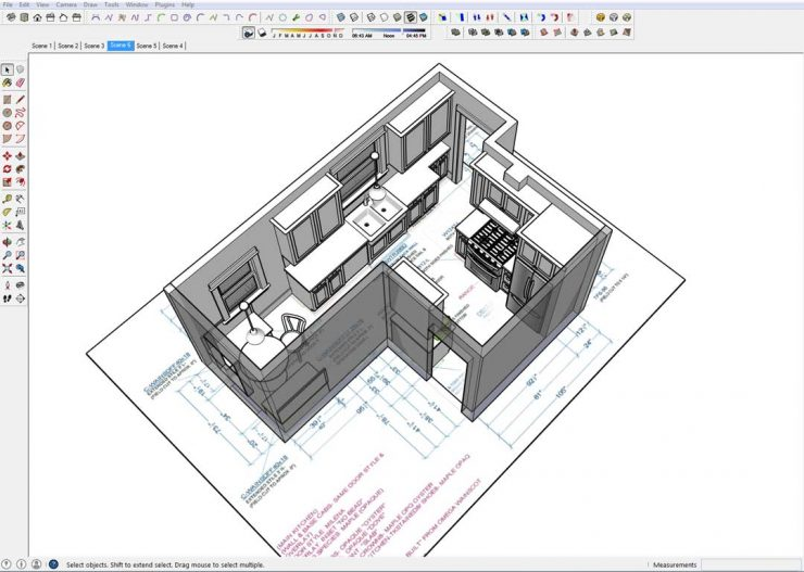 kitchen-sketchup